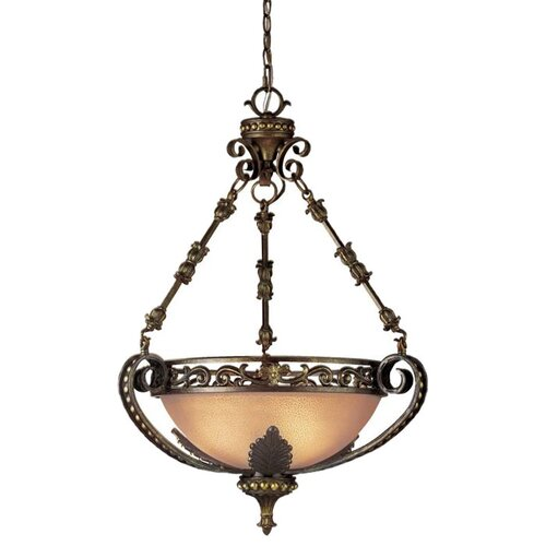 Gallante 3 Light Inverted Pendant