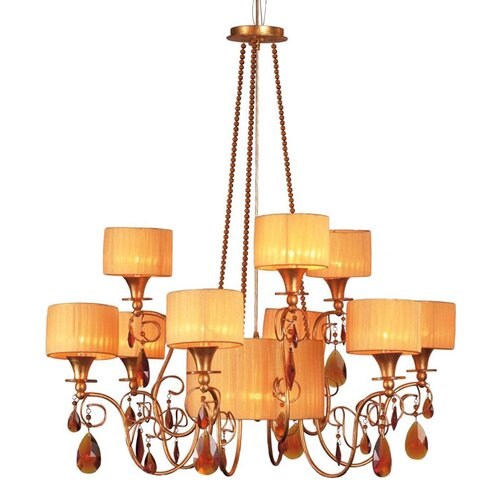 Tempest 12 Light Chandelier