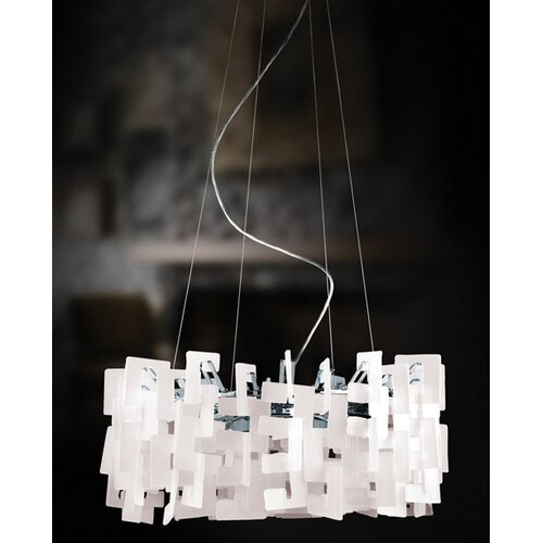 Eurofase Numero 12 Light Drum Pendant