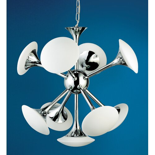 Elysian 9 Light Pendant