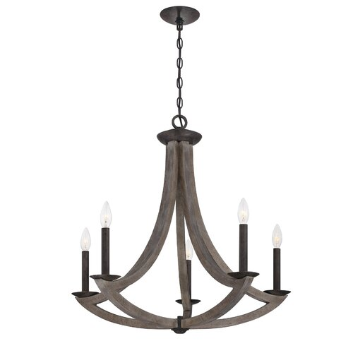 Eurofase Arcata 5 Light Chandelier