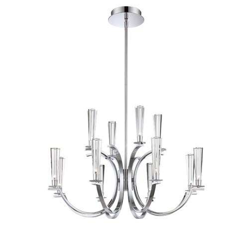 Cromo 12 Light Chandelier