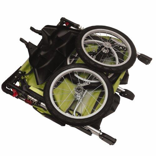 Schwinn Arrow Fixed Wheel Double Jogging Stroller
