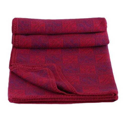 Glyphs Wool / Acrylic Throw Blanket