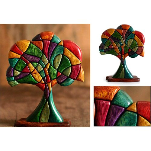 Novica 'Tree of Life' Sculpture