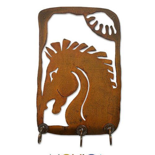 Chestnut Stallion Coat Rack