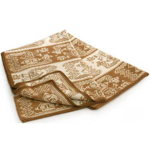 Paracas Coast Wool / Acrylic Throw Blanket