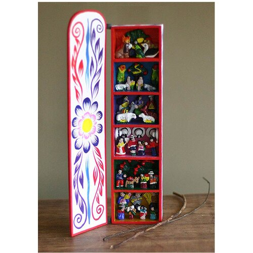 Novica Scenes From My Land' Retablo Figurine