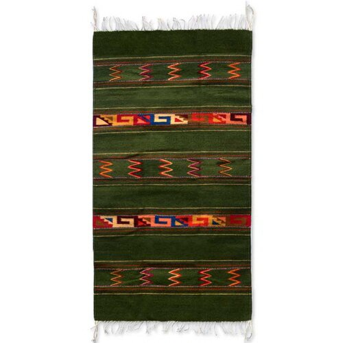 Summer Meadow Zapotec Rug