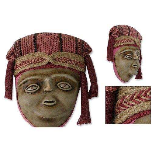 Novica Inca Mother Mask Bust