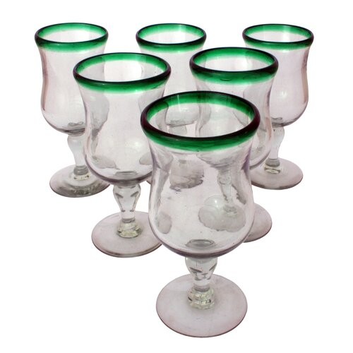 Javier and Efren Caribbean Pina Colada Glass (Set of 6)