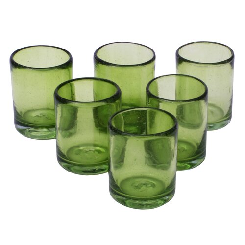 Javier and Efren Lime and Salt Shot Glass (Set of 6)