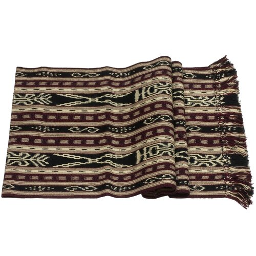 Novica Komon Utzil Artisan Mystical Maize Cotton Table Runner