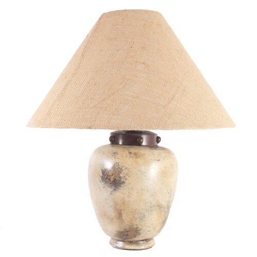 "Novica Raul Fuenzalida Artisan Sands Of Light Ceramic 22"" H Table Lamp with Empire Shade"