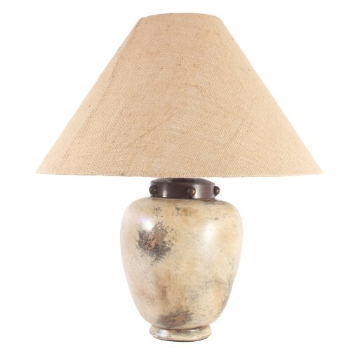 Novica Raul Fuenzalida Artisan Sands Of Light Ceramic Table Lamp
