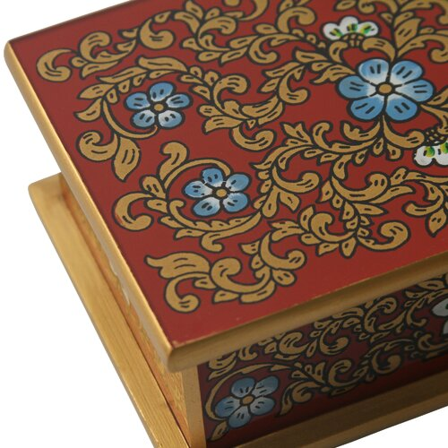 Novica Asunta Pelaez Painted Glass Boxes