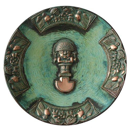 Ana Maria Enciso Ceremonial Blade Copper Plate