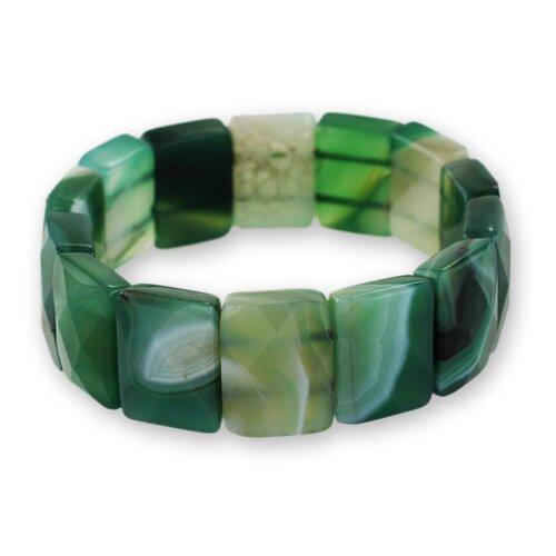 The Joias do Rio Agate Stretch Bracelet
