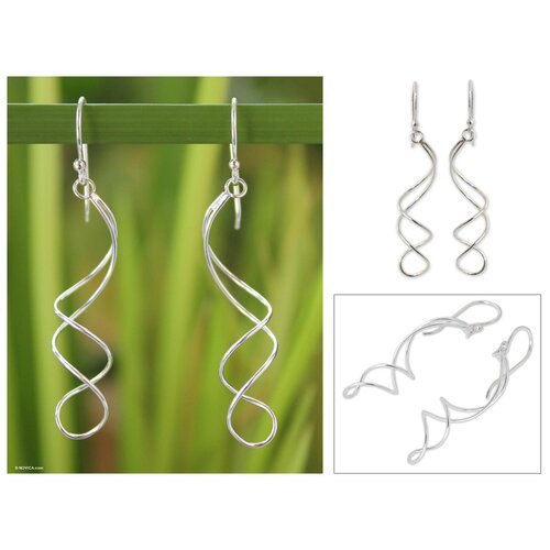 Novica The Pichaya Dangle Earrings