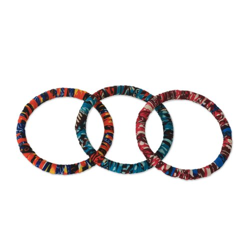 Novica The Ewurabena Blankson Bangle Bracelets