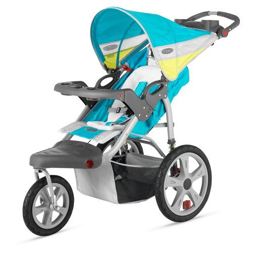 InSTEP Grand Safari Swivel Wheel Single Stroller