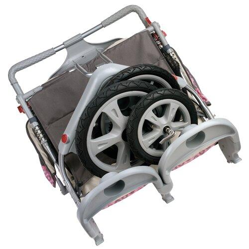 InSTEP Grand Safari Swivel Wheel Double Stroller