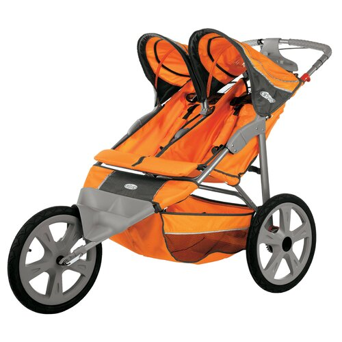 InSTEP Flash Fixed Double Jogging Stroller