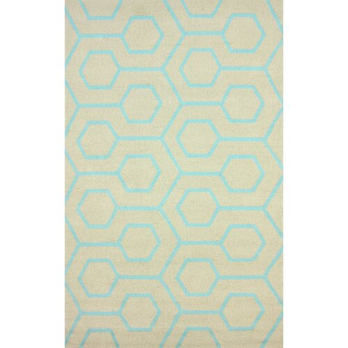 Air Libre Blue Charles Indoor/Outdoor Rug