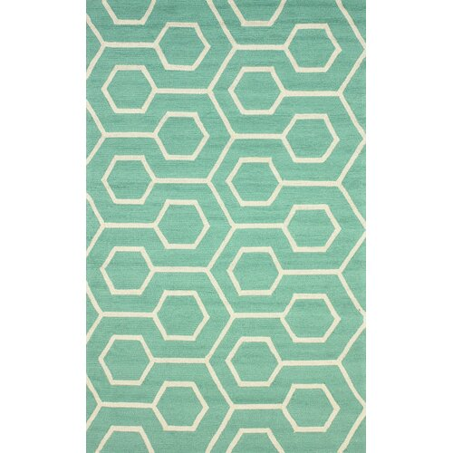 Air Libre Seafoam Charles Indoor/Outdoor Rug