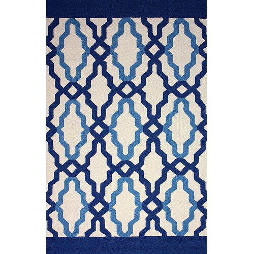 Novel Blue Franca Indoor / Outdoor Rug