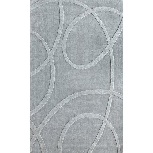 Gradient Loops Light Grey Rug