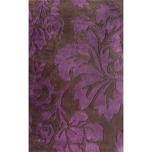 Cine Floral Purple Rug