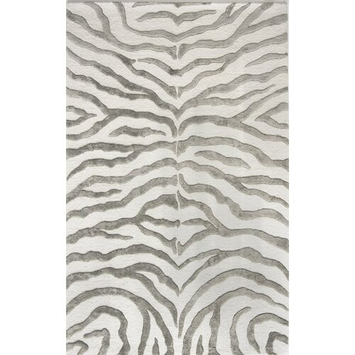 Earth Soft Zebra Grey Rug