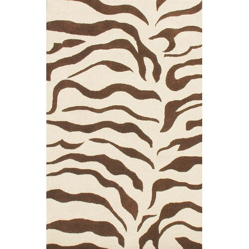 Zebra Rug Wayfair: NuLOOM Earth Zebra Print Brown Area Rug & Reviews