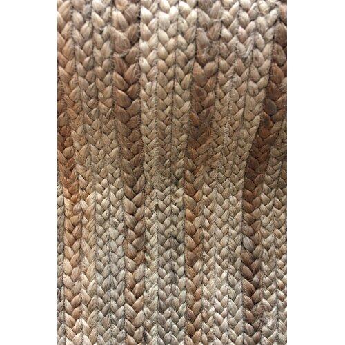 nuLOOM Natura Jute Braided Natural Contemporary Rug