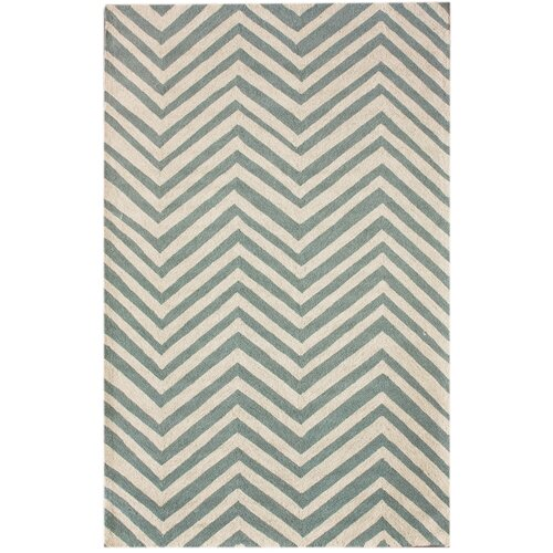 nuLOOM Trellis Light Blue Chevron Rug