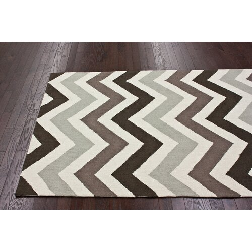 nuLOOM Chelsea Chevron Earth Rug