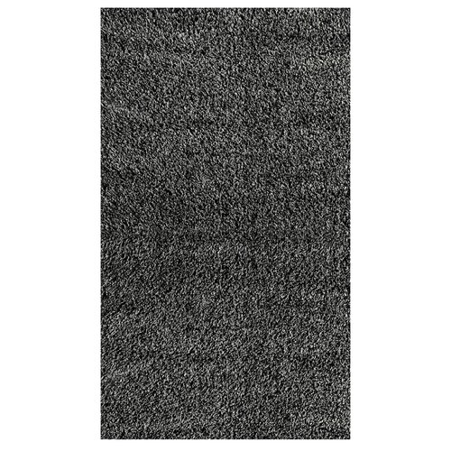 nuLOOM Shag Black/Grey Plush Rug