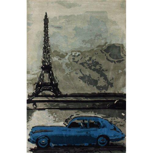 Sovereign Grey Parisian Novelty Rug