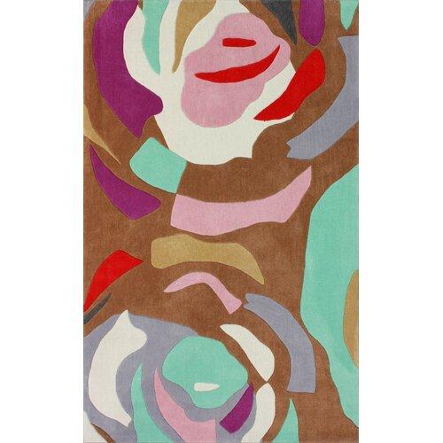 Cine Multi-Colored Petal Rug