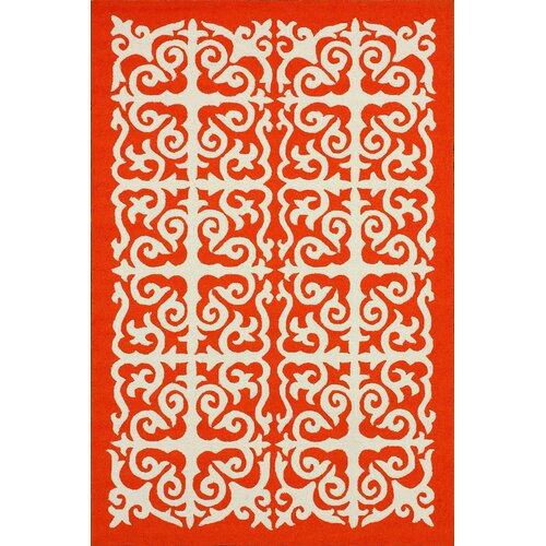 nuLOOM Homestead Orange Celine Rug