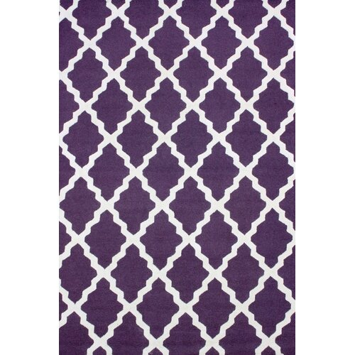 Moderna Purple Marrakech Trellis Rug