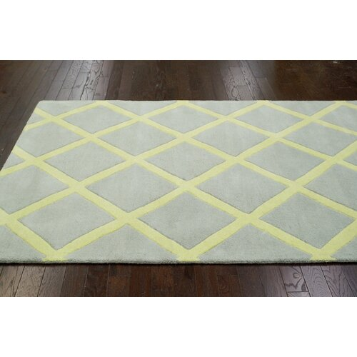 nuLOOM Fancy Baby Yellow Diania Trellis Rug