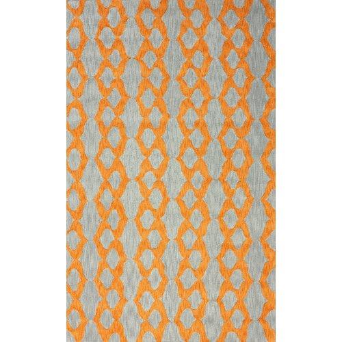 Brilliance Orange Hannah Plush Rug