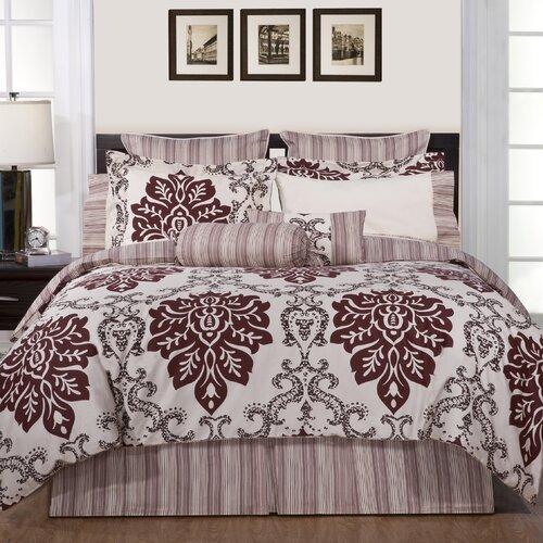 Luxury Ensemble 6 Piece Twin Comforter Set