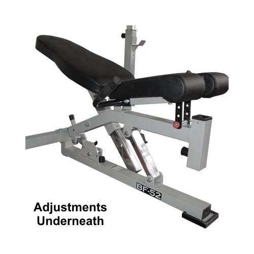 Valor Athletics Adjustable Olympic Bench with Dual Positions