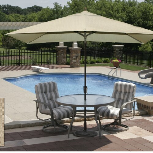 Blue Wave Products 10' Rectangular Market Umbrella