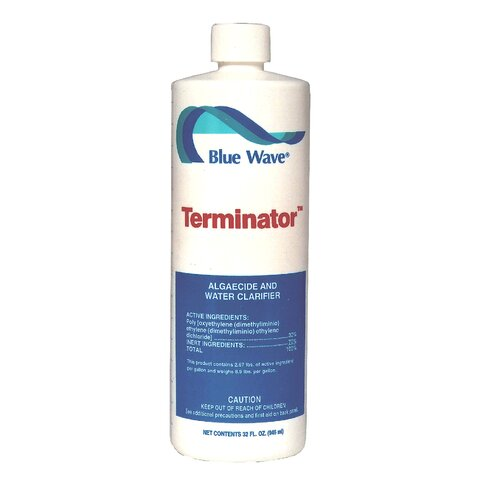 Blue Wave Products Terminator Algaecide (1 Quart)