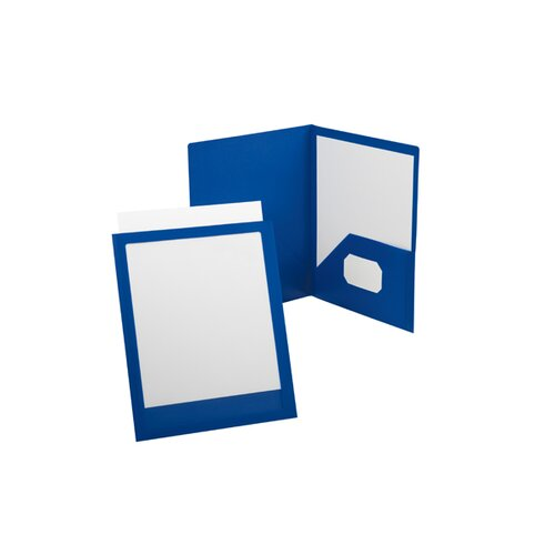 Pendaflex® Oxford ViewFolio Poly Twin-Pocket Folders