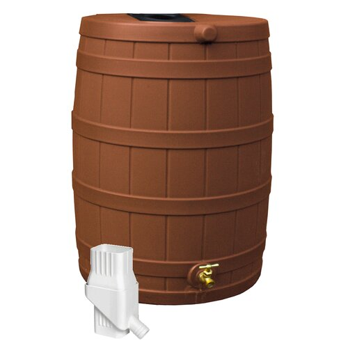 Good Ideas Rain Wizard 50 Gallon Rain Barrel
